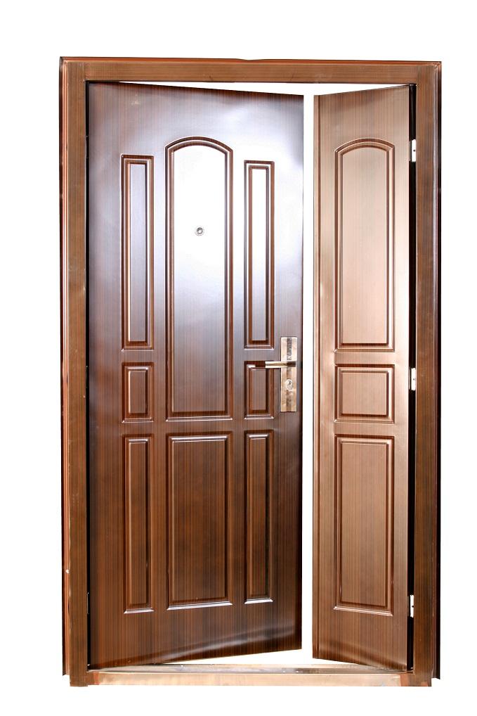 Kétszárnyú biztonsági bejárati ajtó